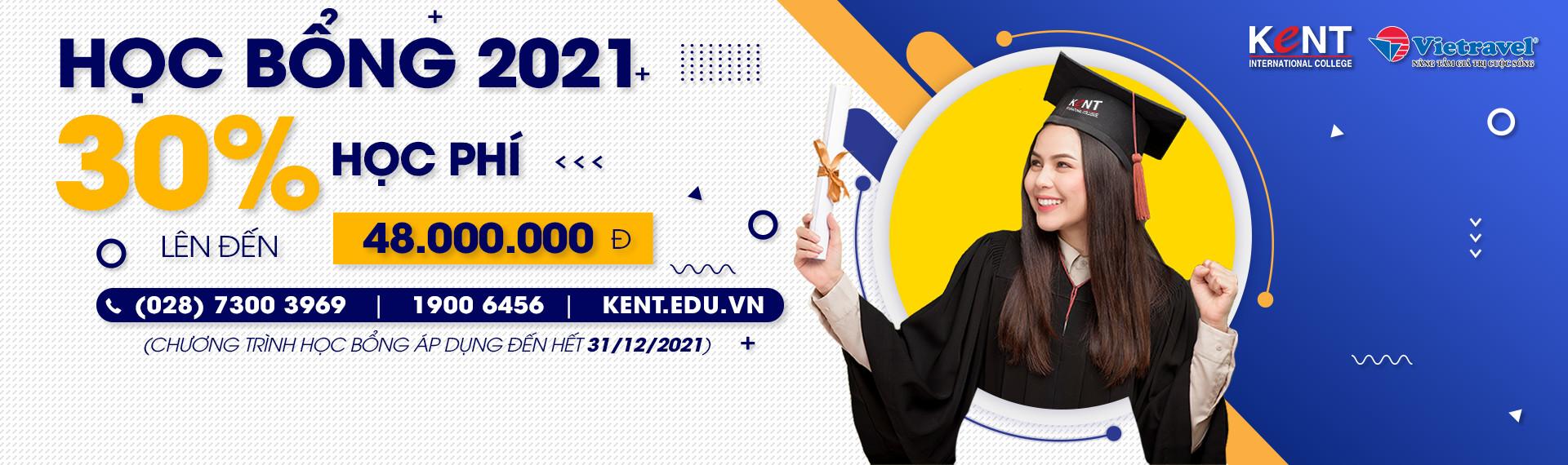 Học bổng Kent 2021