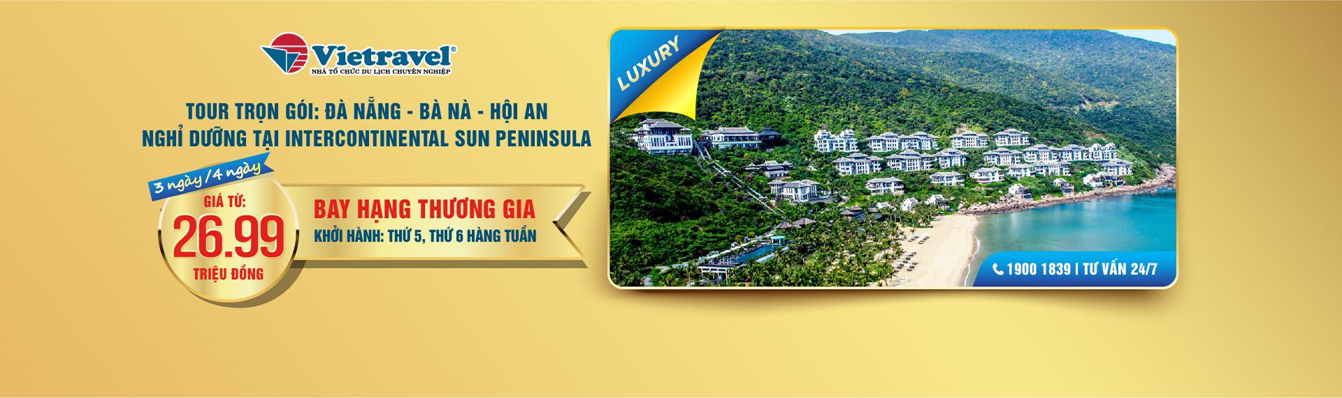 Tour trọn gói Luxury Đà Nẵng