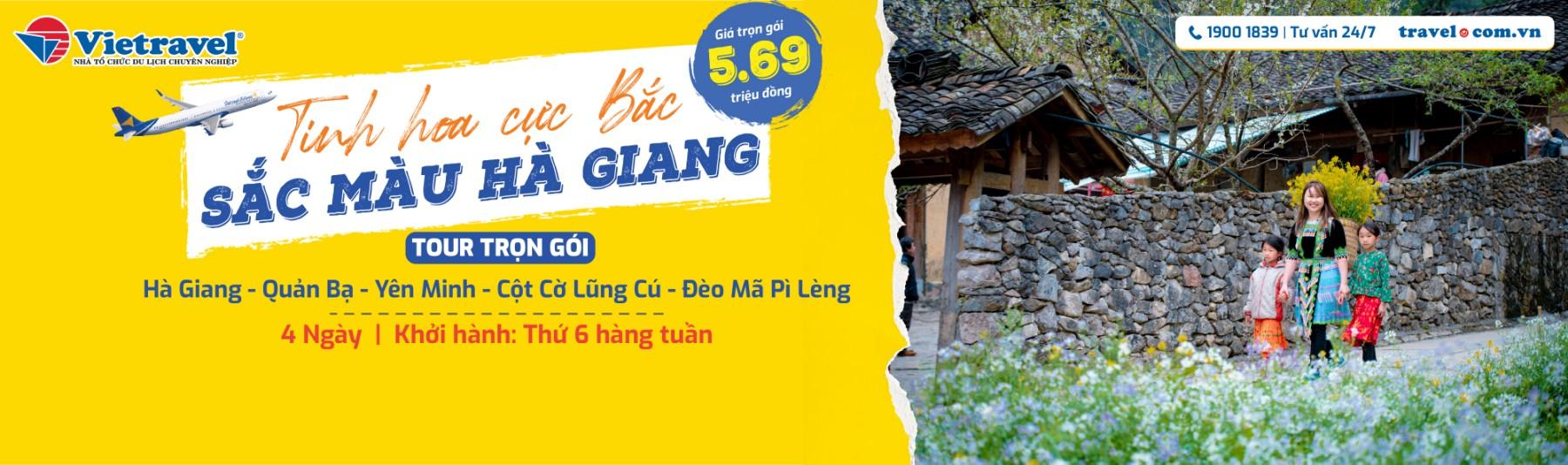 Tour Sắc Màu Hà Giang 2021