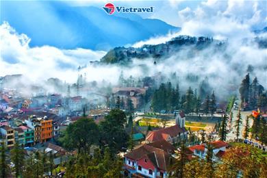 Bay cùng Vietravel Airlines: Hà Nội - Sapa - Fansipan - Lào Cai - Chùa Bái Đính - Tràng An - Tuyệt Tịnh Cốc (Tặng vé xe lửa Mường Hoa)