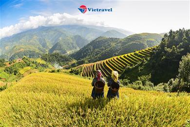 Bay cùng Vietravel Airlines: Hà Nội - Sapa - Bản Cát Cát - Fansipan (Khách sạn 4 sao) - Lễ 30/4