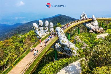 Đà Nẵng - Bà Nà - Cầu Vàng - Sơn Trà - Biển Mỹ Khê - Hội An - Đà Nẵng (Khách sạn 4*. Bay Vietnam Air) - Việt Nam Dưới Cánh Chim Bay