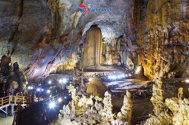 Đà Nẵng - Bà Nà - Cầu Vàng - Sơn Trà - Hội An - La Vang - Động Phong Nha - Huế ( Bay Vietnam Air. Khách sạn 4*2 đêm) - Việt Nam Dưới Cánh Chim Bay