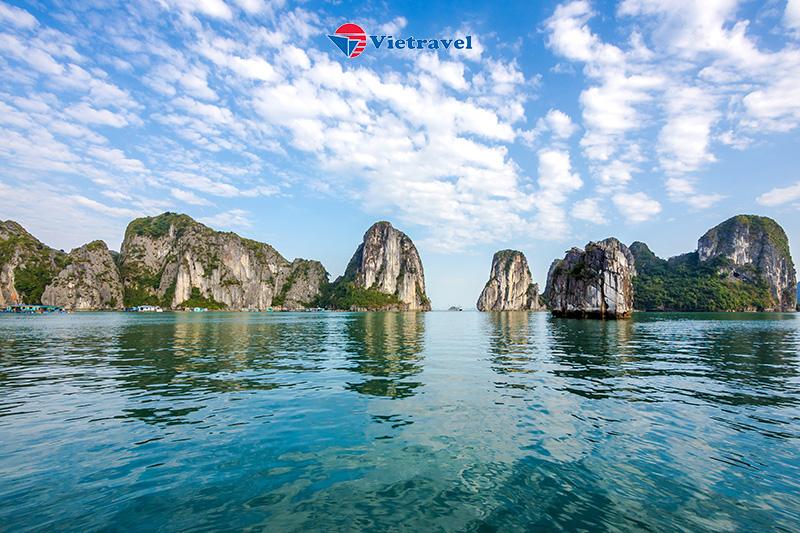 """Cát Bi - Thư giãn trên """"Resort Nổi"""" Paradise Grand Cruise - Chiêm ngưỡng vẻ đẹp của Vịnh Lan Hạ - Flamingo Cát Bà - Bay cùng hàng không Vietnam Airlines hạng Thương Gia"""