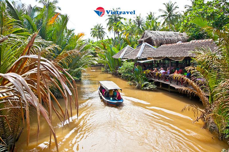 Miền Tây - Check-in cực chất tại phim Trường Mekong - Mỹ Tho - Thới Sơn - Bến Tre (trong ngày) -Tour giá sốc