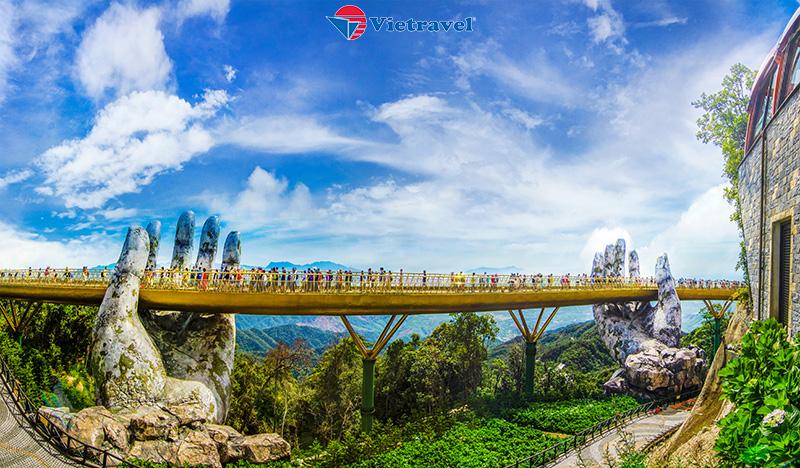 Cần Thơ - Đà Nẵng - Huế - Bà Nà - Cầu Vàng -Hội An ( khách sạn 4* trọn tour. 4N3Đ)