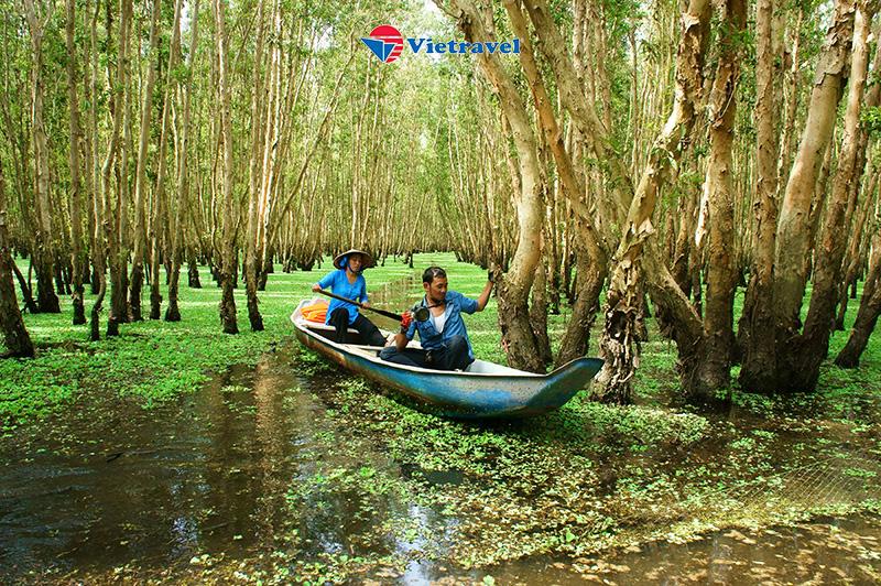 Miền Tây : Cần Thơ - Châu Đốc - Rừng Tràm Trà Sư - Hà Tiên- Bay Vietnam Airlines - Nghỉ Dưỡng tại Victoria Châu Đốc 4 sao