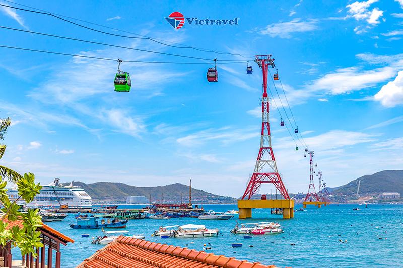 Nha Trang - Hòn Sỏi - KDL Trăm Trứng - Vinwonders - Ngắm Hoàng Hôn Champa Island ( Khách sạn 4*. Tour Giá Sốc) - Mừng chuyến bay thương mại Vietravel Airlines