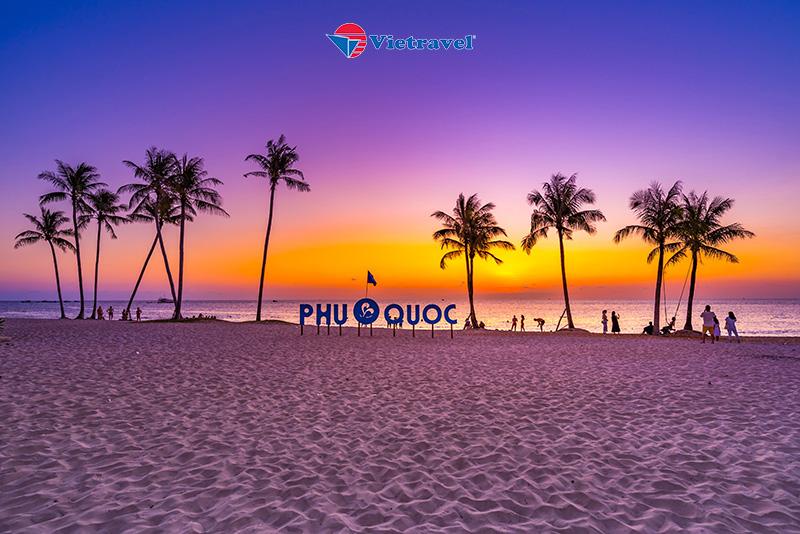 Bay cùng Vietravel Airlines: Phú Quốc - Bãi Sao - Thử Tài Câu Cá (Khách Sạn 3 Sao)