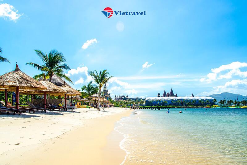 Nha Trang - Hòn Mun - Tắm khoáng nóng I-resort - Hàng không Vietjet - Khách sạn 4*