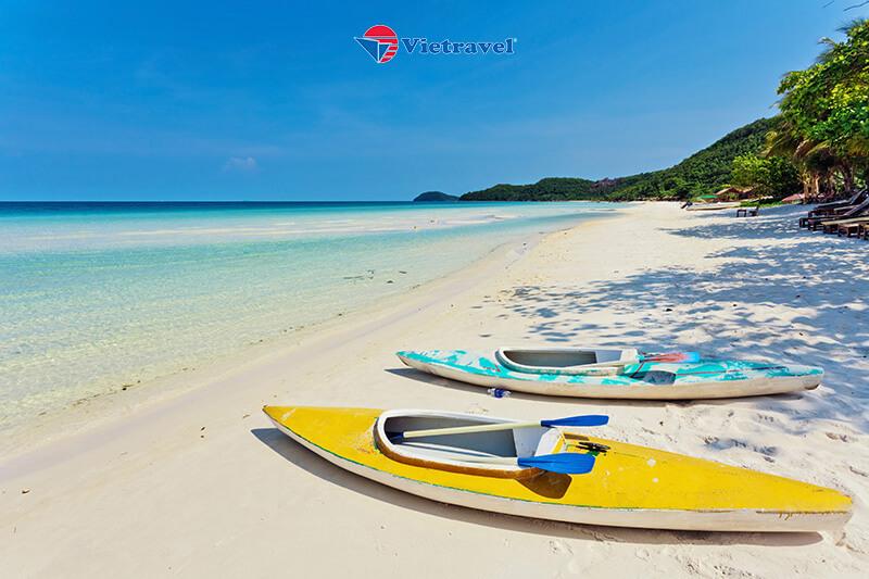 Bay cùng Vietravel Airlines: Phú Quốc - Du ngoạn 5 đảo - Trải Nghiệm Cáp Treo Vượt Biển - Thỏa Thích Vui Chơi Tại Công Viên Nước Aquatopia (Khách Sạn 4 Sao)