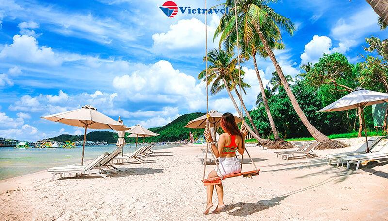 Phú Quốc - Trải nghiệm Đi Bộ Dưới Đáy Biển - Bar Bạch Tuộc Ngắm Hoàng Hôn - Tour 4 Đảo - Nghỉ đêm tại JW Marriott Phu Quoc Emerald Bay Resort & Spa - Bay cùng hàng không Vietravel Airlines