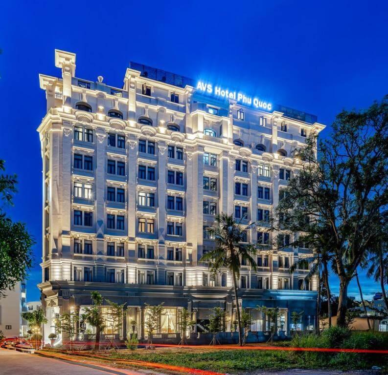 Combo 3N2Đ AVS Hotel Phú Quốc 4 Sao: Vé máy bay khứ hồi + Phòng Deluxe + Ăn sáng