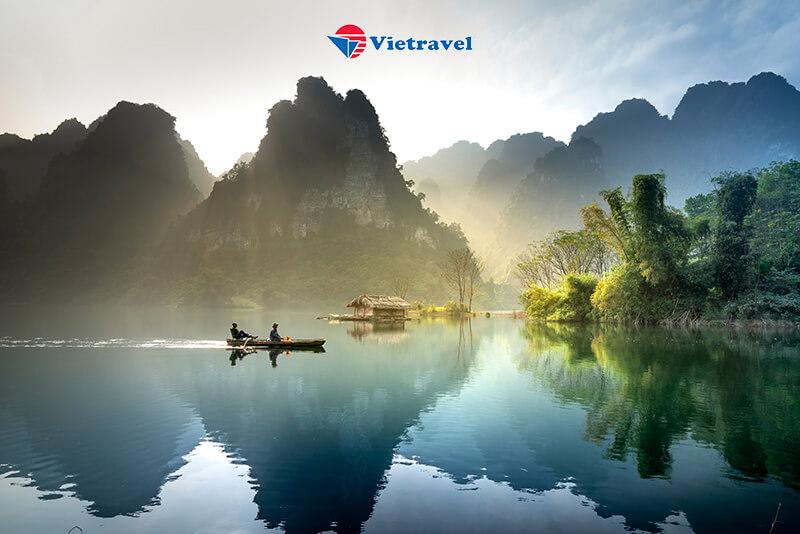 Bay Cùng Vietravel Airlines: Bắc Cạn - Hồ Ba Bể - Pác Bó - Cao Bằng - Thác Bản Giốc - Lạng Sơn - Ải Chi Lăng