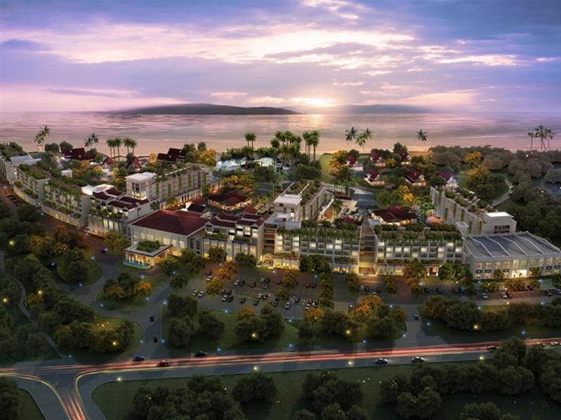 Combo 3N2Đ Khách sạn NamAn Retreat 5*: Phòng Babylon + Ăn sáng + Xe đưa đón sân bay