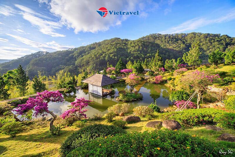Đà Lạt Máy Bay - Kim Ngân Hill - Phân Viện Sinh Học - Làng Hoa Vạn Thành - Cà Phê Mê Linh (Tour Giá Sốc)