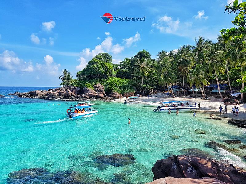 Phú Quốc - Thỏa Thích Vui Chơi Tại Vinwonders & Safari - Hòn Thơm Nature Park - Trải nghiệm cáp treo vượt biển ( khách sạn 3 sao, giá đã gồm vé máy bay)